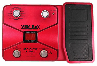 Mooer VEM Box  Vocal FX Multi Effects Processor with Expression Pedal - Vocoder