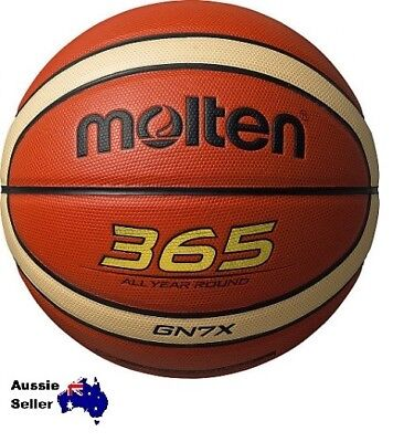 Sale  Molten Composite Leather Indoor/outdoor 365 Size 7 Basketball Bgn7X Gn7X