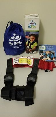 Kids Fly Safe CARES Airplane Safety Harness with Storage Bag FAA Approved