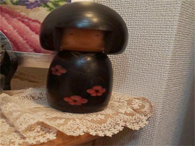 Kokeshi Japanese traditional craft cute rare popular vintage retro girl F / S!