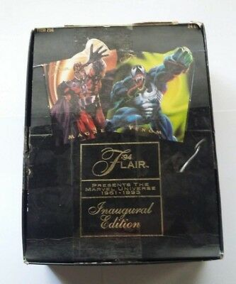 94 Flair Marvel Universe Trading Cards Inaugural Edition 24 Sealed Packs Boxes