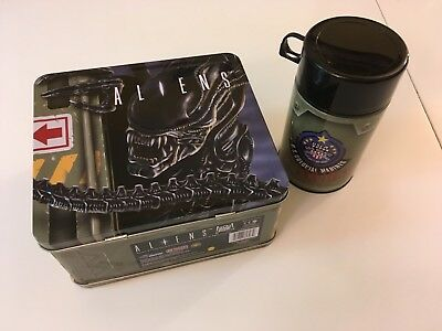 ALIENS LUNCHBOX complete with thermos