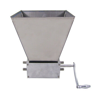 HFS(R) Grain Mill with 11 lb. Hopper and 3 Rollers, Three Roller Malt Mill