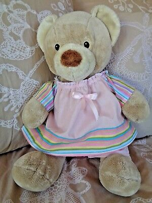 Clothes to fit  girls Build a Bear 15in  Pumpkin Patch teddy dress and pants set