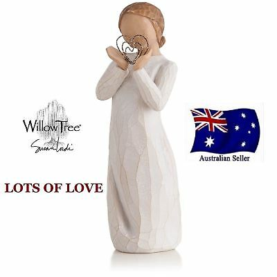LOTS OF LOVE Demdaco Willow Tree Figurine By Susan Lordi BRAND NEW IN BOX