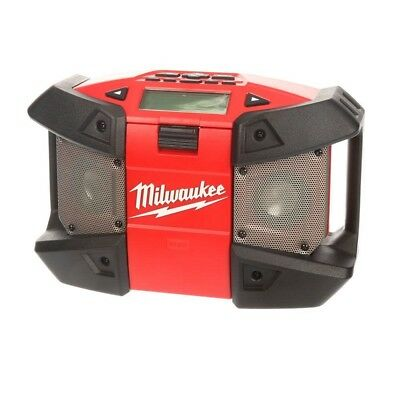 Milwaukee Job Site Radio Tool Only Lithium-Ion Cordless Power AM FM M12 12Volt