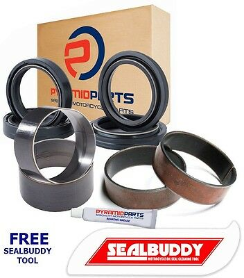 Full Suspension kit Fork Seals Dust Seals Bushes for Honda VFR800 1-9 2002-2009