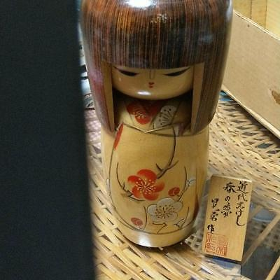 Kokeshi Japanese traditional craft cute popular vintage retro beautiful F/S!