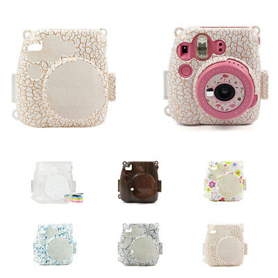 1x PVC Camera Shoulder Bag Case Cover For Fujifilm Instax Mini 8/8+/9 Protector