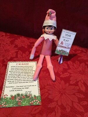 Handmade Xmas Elf Accessories/I'm Back Compatable with Elf on the Shelf