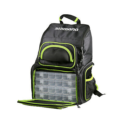 Shimano Soft Back Pack With Boxes LUG1806 BRAND NEW @ Ottos Tackle World