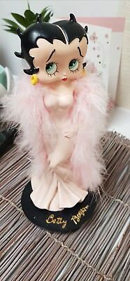 BETTY BOOP Collectible Porcelain Figurine 22cms RARE!  Stamped