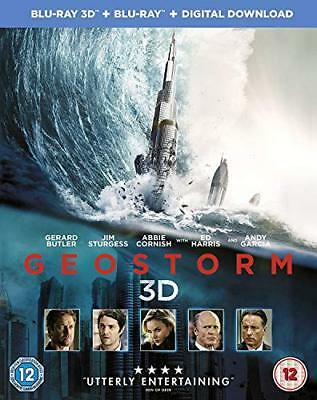 Geostorm [Blu-ray 3D + Blu-ray + Digital Download] [2017] [Region Free] [DVD]