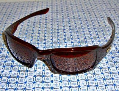 New Oakley Men's Fives Squared OO9238-07 Polished Root Beer Rectangle Sunglasses