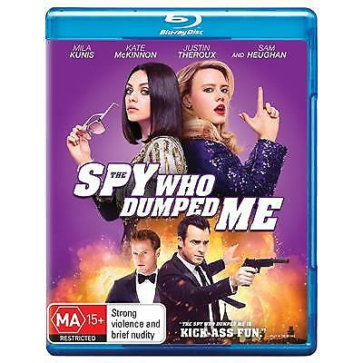 Spy Who Dumped Me, The (Blu-ray, 2018) (Region B) New Release