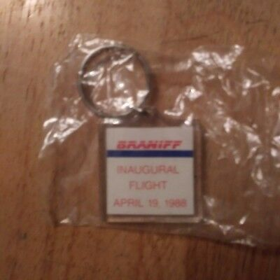 Braniff key chain - New and sealed - 1988 - New Mexico