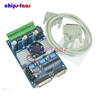 CNC 3 Axis TB6560 Stepper Motor Driver Controller Board For Mach3 Nema17 / 23