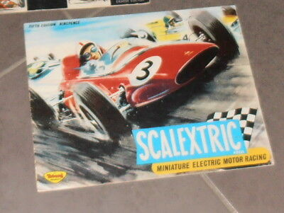 Scalextric Catalogue Number 5 Slot Cars Scx..very Good