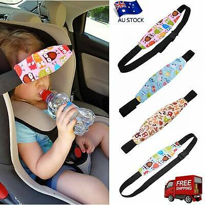AU Baby Safety Car Seat Sleep Nap Aid Kids Soft Head Fasten Support Holder Belt