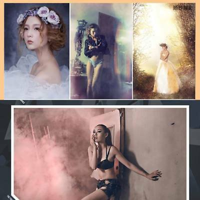 Colorful Smoke Cake Round Effect Show Bomb Stage Photography Video MV Aid Toy