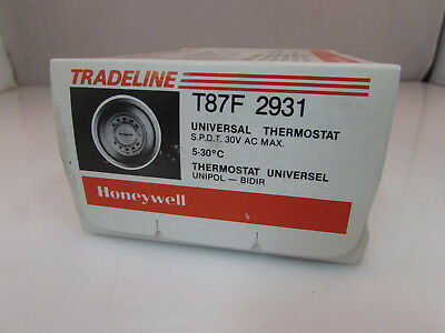Honeywell Round Heating Cooling Thermostat Celcius T87F2931