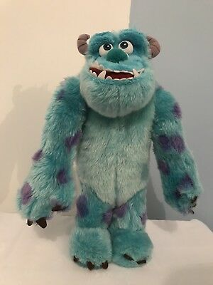 Disney Pixar Talking Roaring Soft Furry Sulley Monsters Ink Gift Toys Childrens