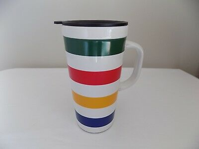 The Hudsons Bay Company Or The Bay Iconic 5-Color Ceramic Coffee Travel Mug