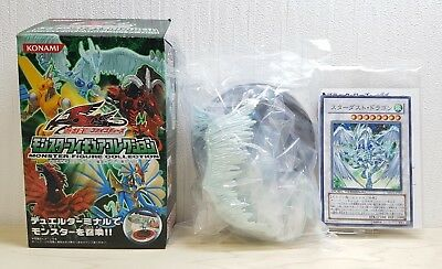 Konami Yugioh 5DS Monsters Collection STARDUST DRAGON figure & card Yu-Gi-Oh!