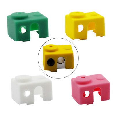 3D Printer Silicone Sock Heater Block Cover For E3D-V6 Protect Tool Round Hole G