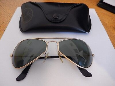 Ray Ban Bausch and Lomb Sunglasses (small size)