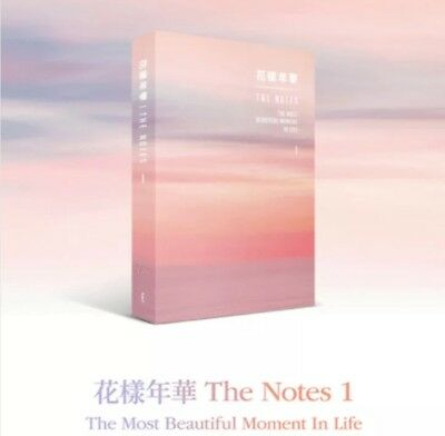 BTS-THE NOTES 1- The Most Beautiful Moment In Life 花樣年華 {ENG VER.} IN STOCKS NOW