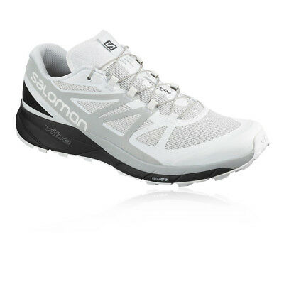 Salomon Mens Sense Ride Trail Running Shoes Trainers Sneakers White Sports