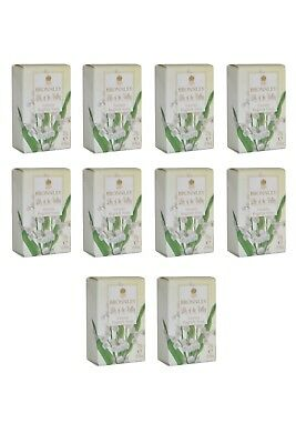 James Bronnley Lily of the Valley Luxury English Soaps Pack of  10 x 25g