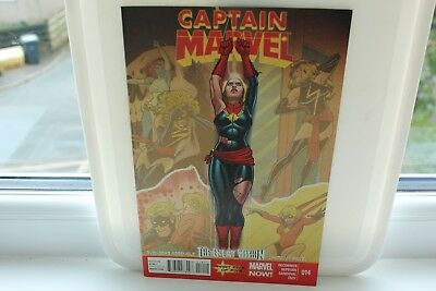 marvel comics captain marvel ms marvel #14 2013 nm