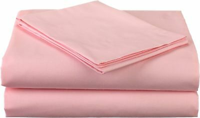 New Bedding Items All UK Sizes Pink Solid 1000 Thread Count Egyptian Cotton