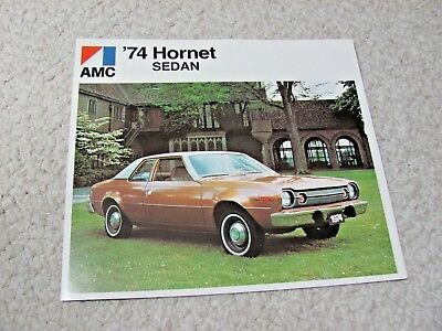 1974 Canadian Amc Hornet Sales Brochure...