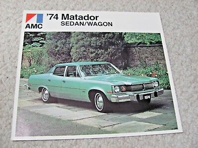1974 Canadian Amc Matador Sales Brochure...