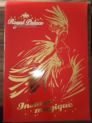 Programme ROYAL PALACE 2003-2004 - music-hall, cabaret, cirque