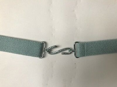 Childrens Adjustable Snake Belt Pale Blue Colour Age Approx 2-8 Years