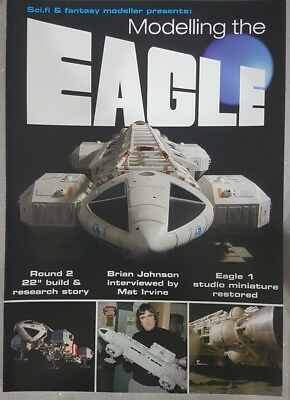 Sci-Fi & Fantasy Modeller Modelling The Space: 1999 Eagle 84-Page Special now OP