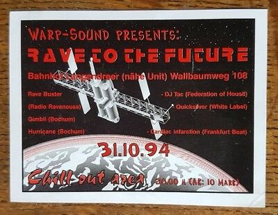 Rave to the Future - Rave Buster/Gimbli/Hurricane/DJ Tac... - 94 - kleiner Flyer