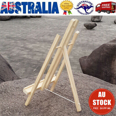 40CM Wood Easel Artist Art Display Painting Shop Tripod Stand Artist Craft AU