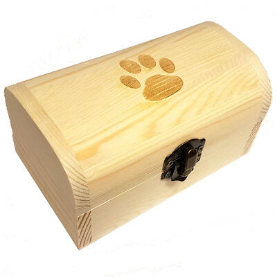 Pet Urn Small Pine Dog Urn Dog Box Casket Token Ashes Box (for pet up to 3kg)