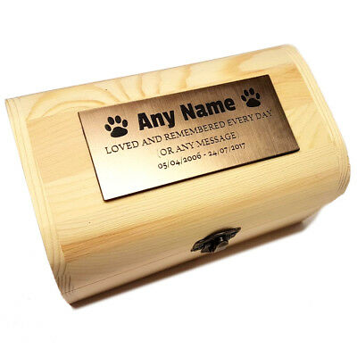 Small Pet Urn Acrylic Plaque Dog Urn Dog Box  Ashes Box (for pet up to 3kg)