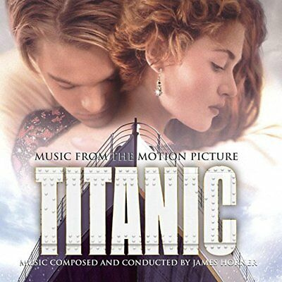 Original Soundtrack-music from the motion picture TITANIC (UK IMPORT) CD NEW