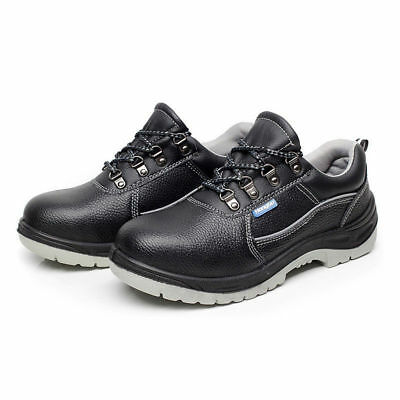 c2048d3d36a MENS HIGH TOP Steel Toe Leather Ankle Boots Safety Work Shoes ...