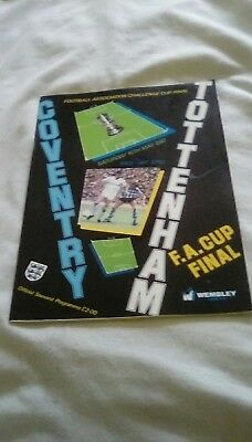 FA Cup Final 1987 Programme - Coventry v Spurs