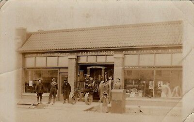 1920's Ramona Kansas Avery Tractors & Threshers Dealership RPPC J. H. Brubaker