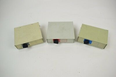 Lot of 3 Video Data Transfer Switch Boxes