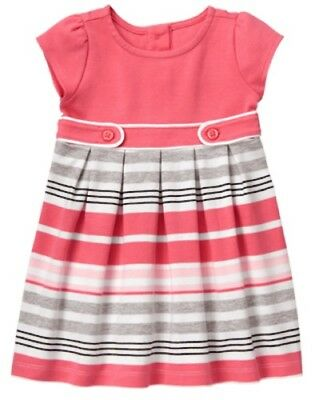 NWT Gymboree Kitty in Pink striped Dress 2T,4T,5T  Toddler Girls